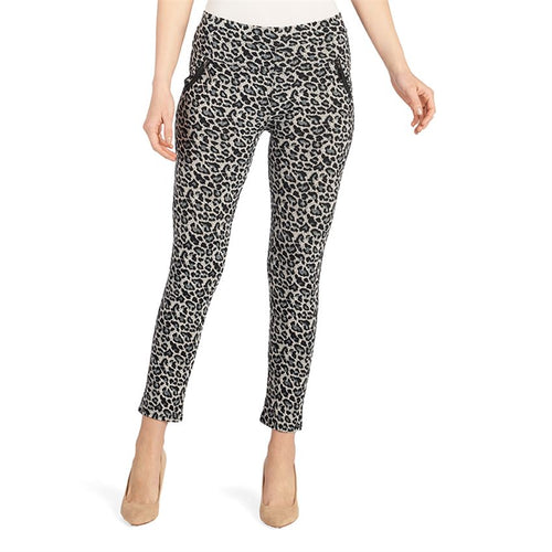Jasmine Zip Pocket Print Leggings