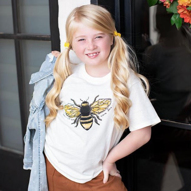 Kids Sweet Bee Tee