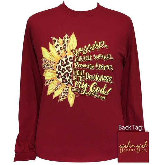Waymaker Cardinal Long Sleeve Tee