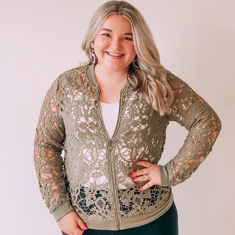 Embrace the Lace Jacket