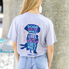 Dogs Are Not Our Whole Lives Tee-Athletic Heather
