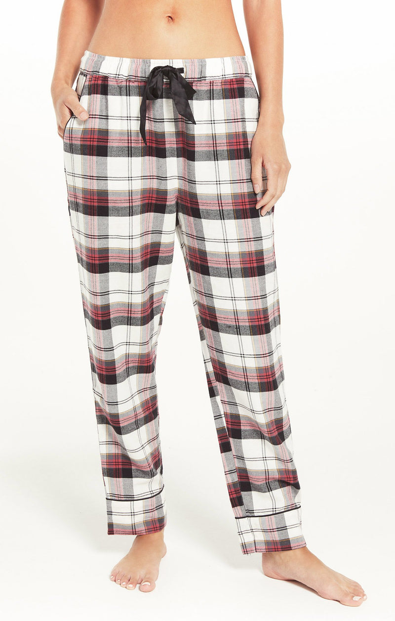 Dream State Plaid Pajama Set