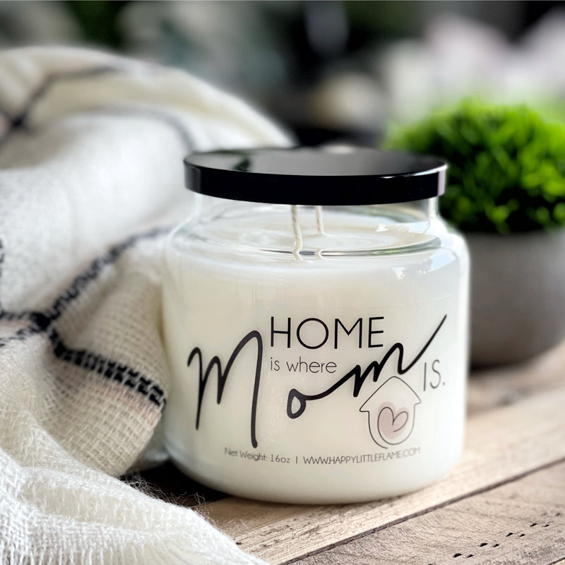"""Best Mom Ever"" 16 oz Candles"