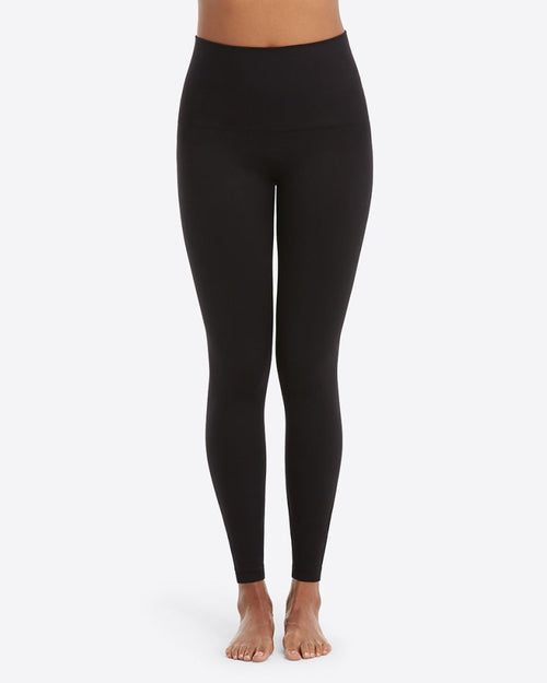 Spanx Seamless Black Leggings