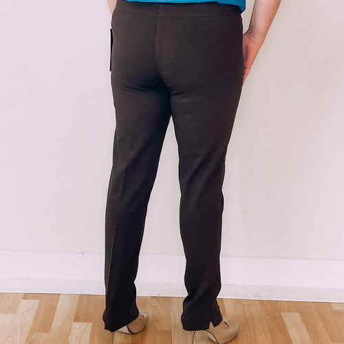 Slimsation Narrow Pant-Chocolate