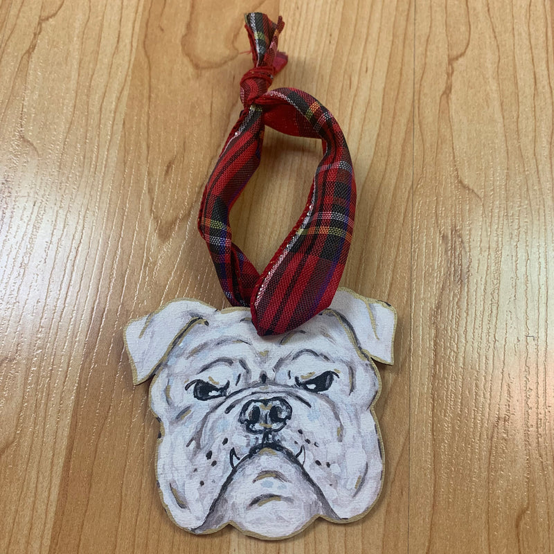 Handmade Bulldog Ornament