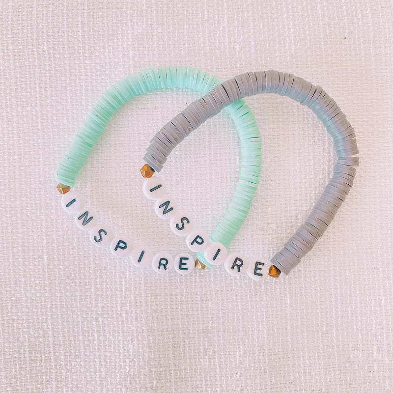 Inspire Beaded Stretch Bracelet