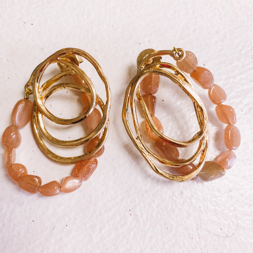 Assorted Blush & Gold Earrings
