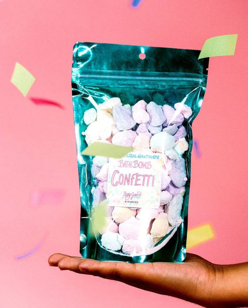 All Natural Bath Bomb Confetti