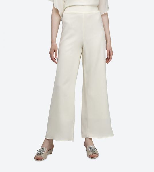 Seden Elasticated Waist Palazzo Trousers