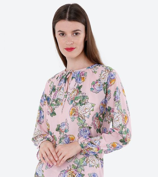 Seden Chiffon Long Sleeve Blouse