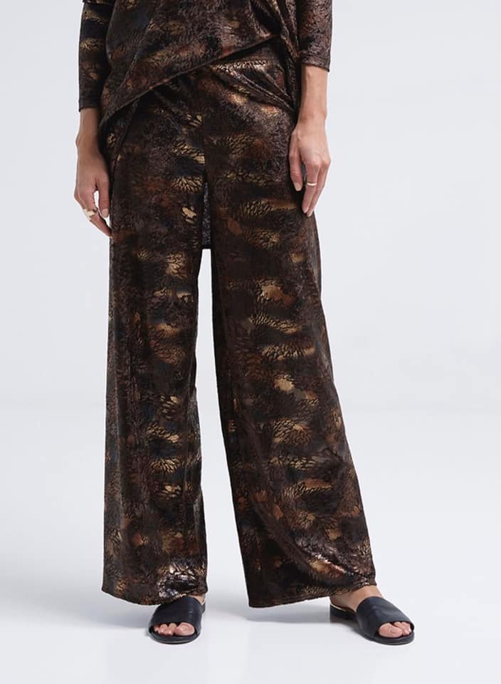 Seden Velvet Pants Brown