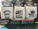 Glow in the Dark Wine Cups