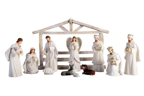 Pastel Xmas Nativity Set