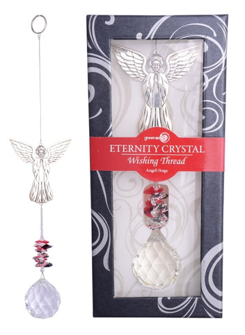 Eternity Crystal Wishing Thread Suncatcher in Gift Box (24cm)