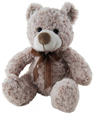 Plush Bear Shaggy Brown (30cm)