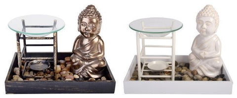 Buddha Oil Burner 2 Assorted (19cm)