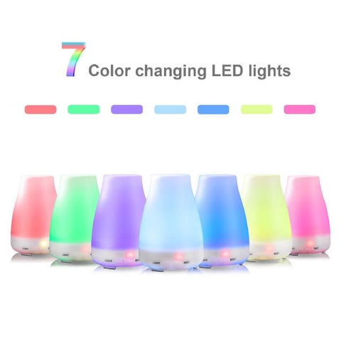 7 Colour Changing LED Electric Diffuser 100ml (14cm)