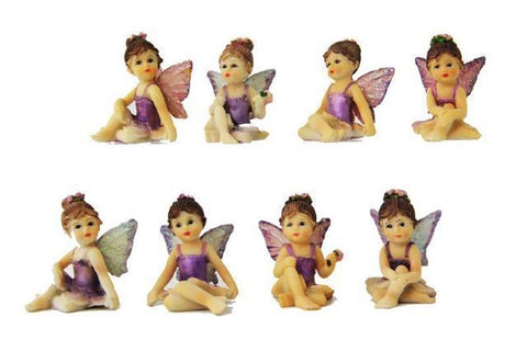 Figurine Fairy Sitting (4.4cm)