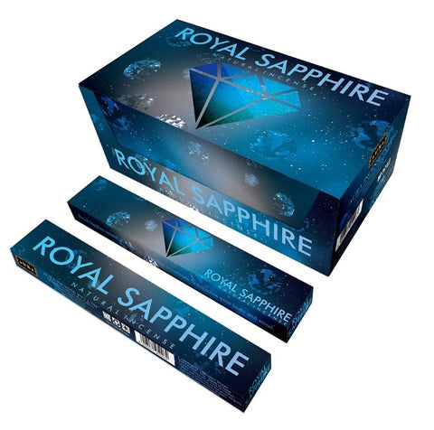 New Moon Royal Sapphire Natural Masala Incense (15gm)