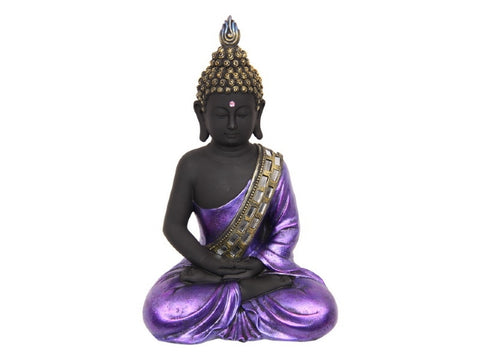 Buddha in Royal Purple Robe