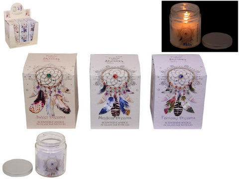 """Follow your Dreams"" Scented Candles"