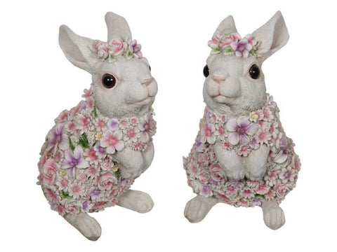 Cute Floral Rabbit (30cm)