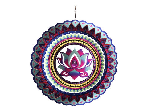 Spinner Lotus Flower Mandala (25cm)