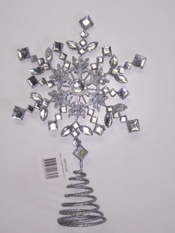 Tree Topper Xmas Snowflake with Jewels