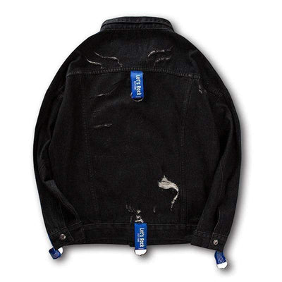 Bravuno Denim Jacket - IkigaiSoul