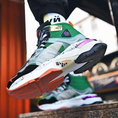 Colourful Sneakers - IkigaiSoul