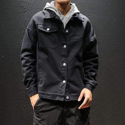 Hemp Denim Jacket - IkigaiSoul