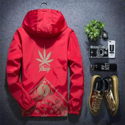 Hemp Windbreaker - IkigaiSoul