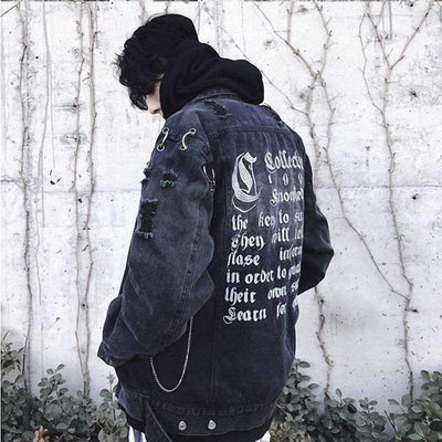 Merlin Denim Jacket - IkigaiSoul