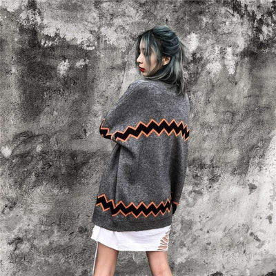 Z Cardigan Sweater - IkigaiSoul
