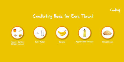 Nursing a sore throat? Here's what you should and shouldn't eat