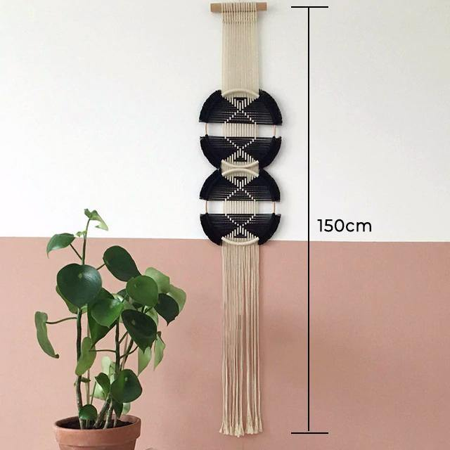 Ring Macrame Wall Hanging