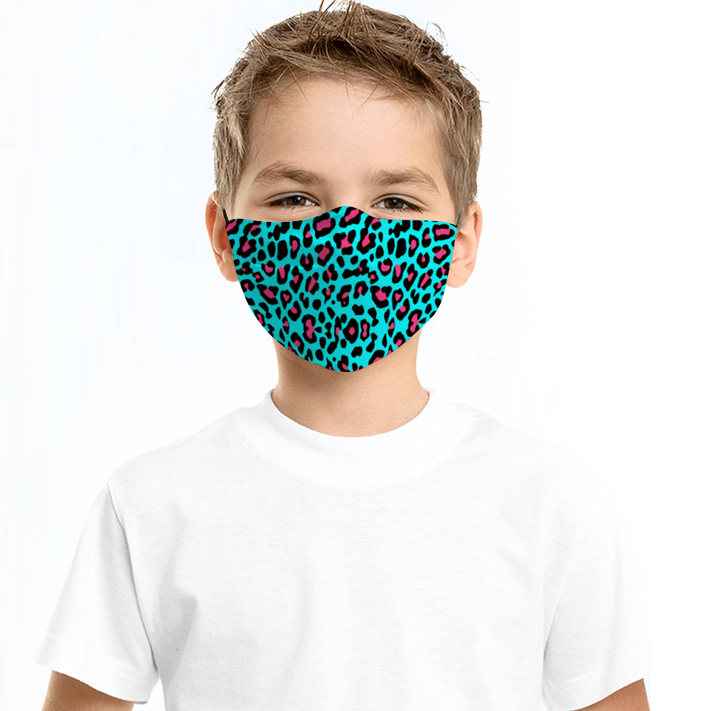 Funky Animal Child's Face Mask with Filter - Glamorous Hangups Ltd