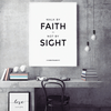 Love & Faith Bible Verse Wall Art - Glamorous Hangups