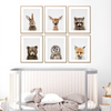 Woodland Animal Nursery Print - Glamorous Hangups