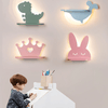 Nursery Wall LED Light with Shelf - Glamorous Hangups