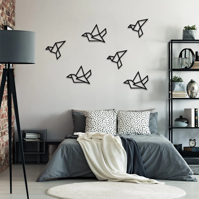 Vapaus Birds In Flight Metal Wall Art - Glamorous Hangups