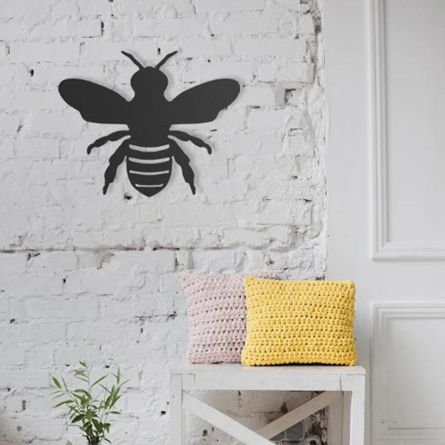 Busy as a Bee Metal Wall Art - Glamorous Hangups