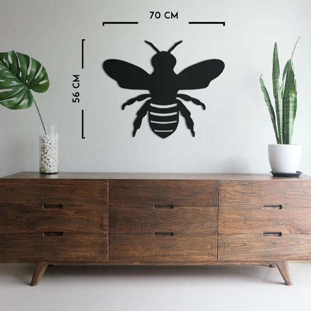 Busy as a Bee Metal Wall Art - Glamorous Hangups Ltd