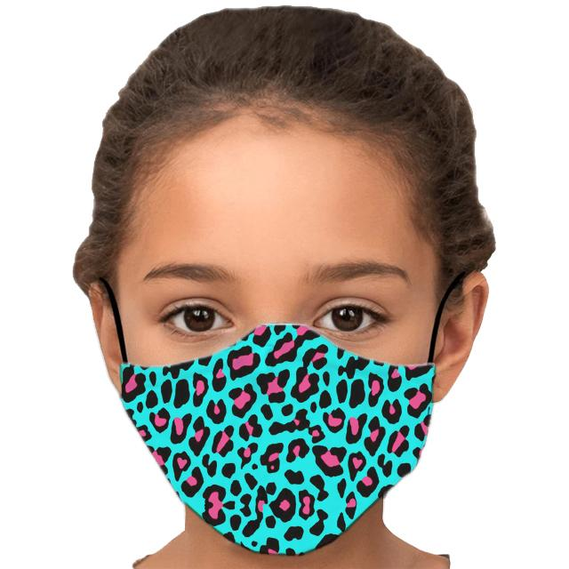 Funky Animal Child's Face Mask with Filter - Glamorous Hangups