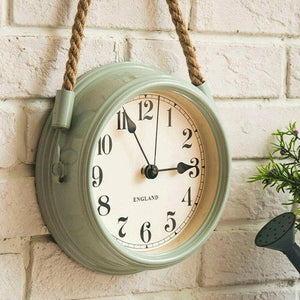 Farmhouse Metal Wall Clock