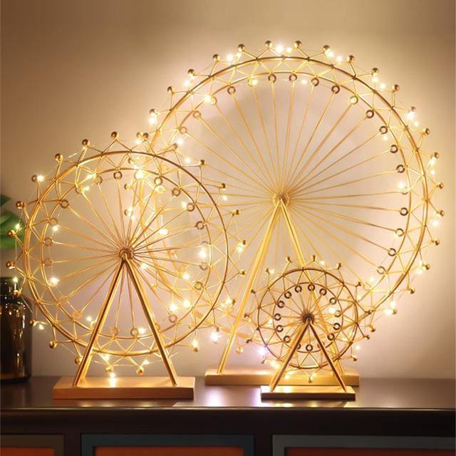 Christmas Ferris Wheel Night Light