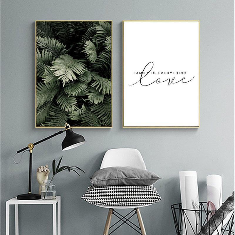 Leaf & Love Nordic Wall Art - Glamorous Hangups Ltd