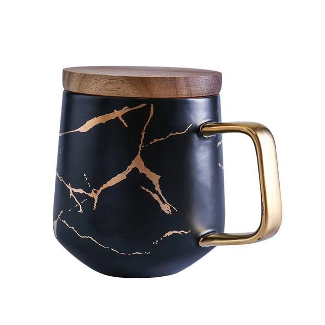 Gold Marble Coffee Mugs - Glamorous Hangups Ltd