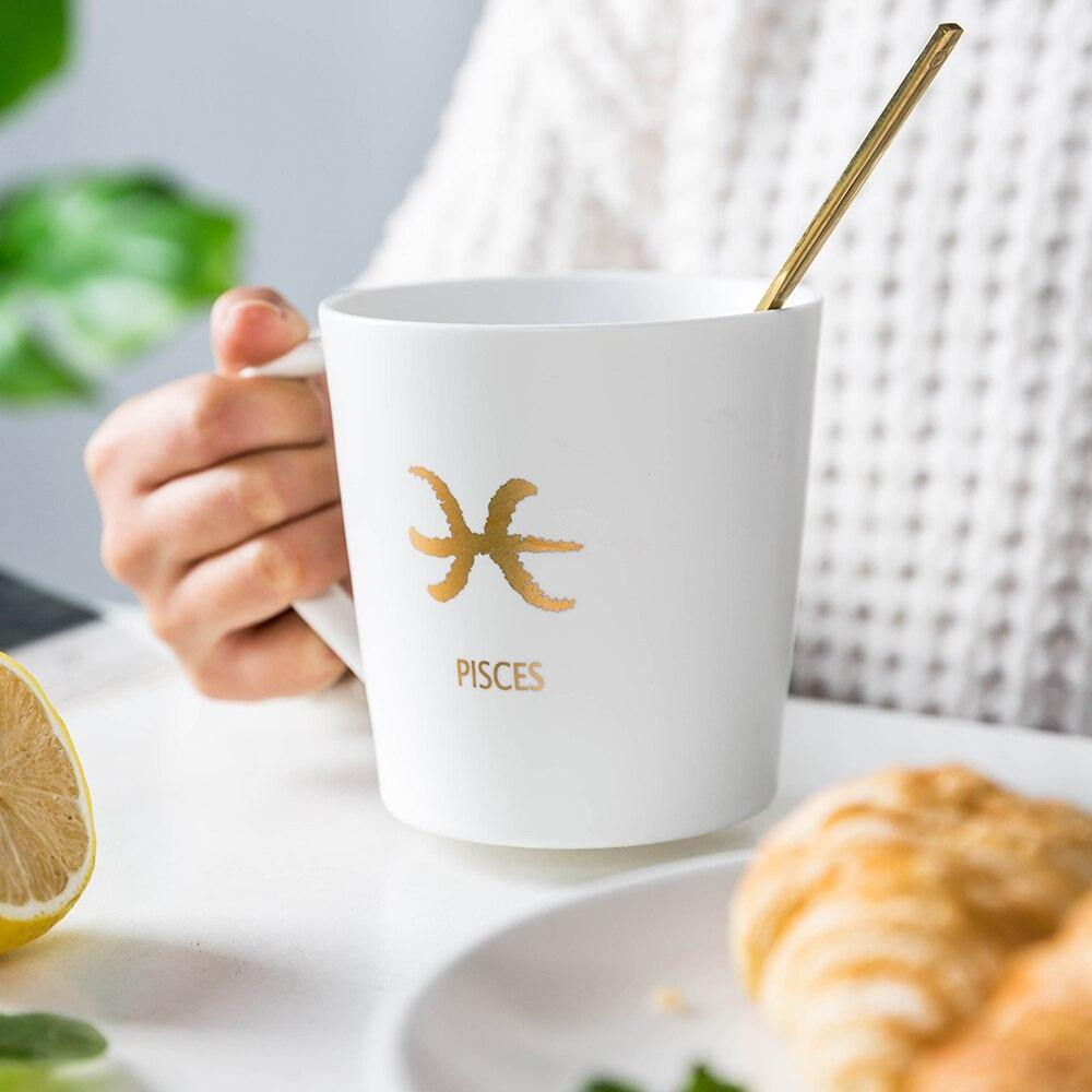 Constellations &  Zodiac Large Coffee Mugs - Glamorous Hangups Ltd